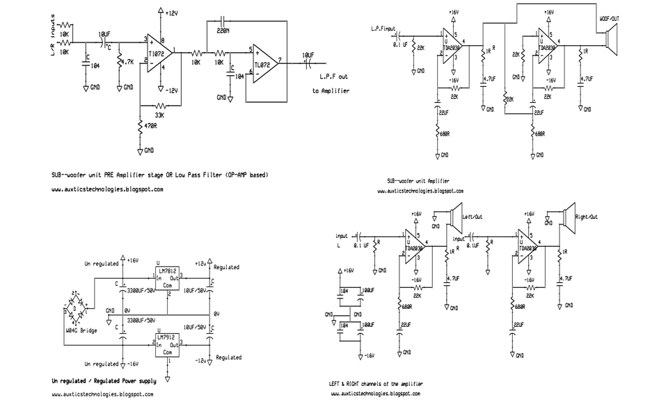 Home Theater Circuit Diagram | Wiring Schematic Diagram ... on