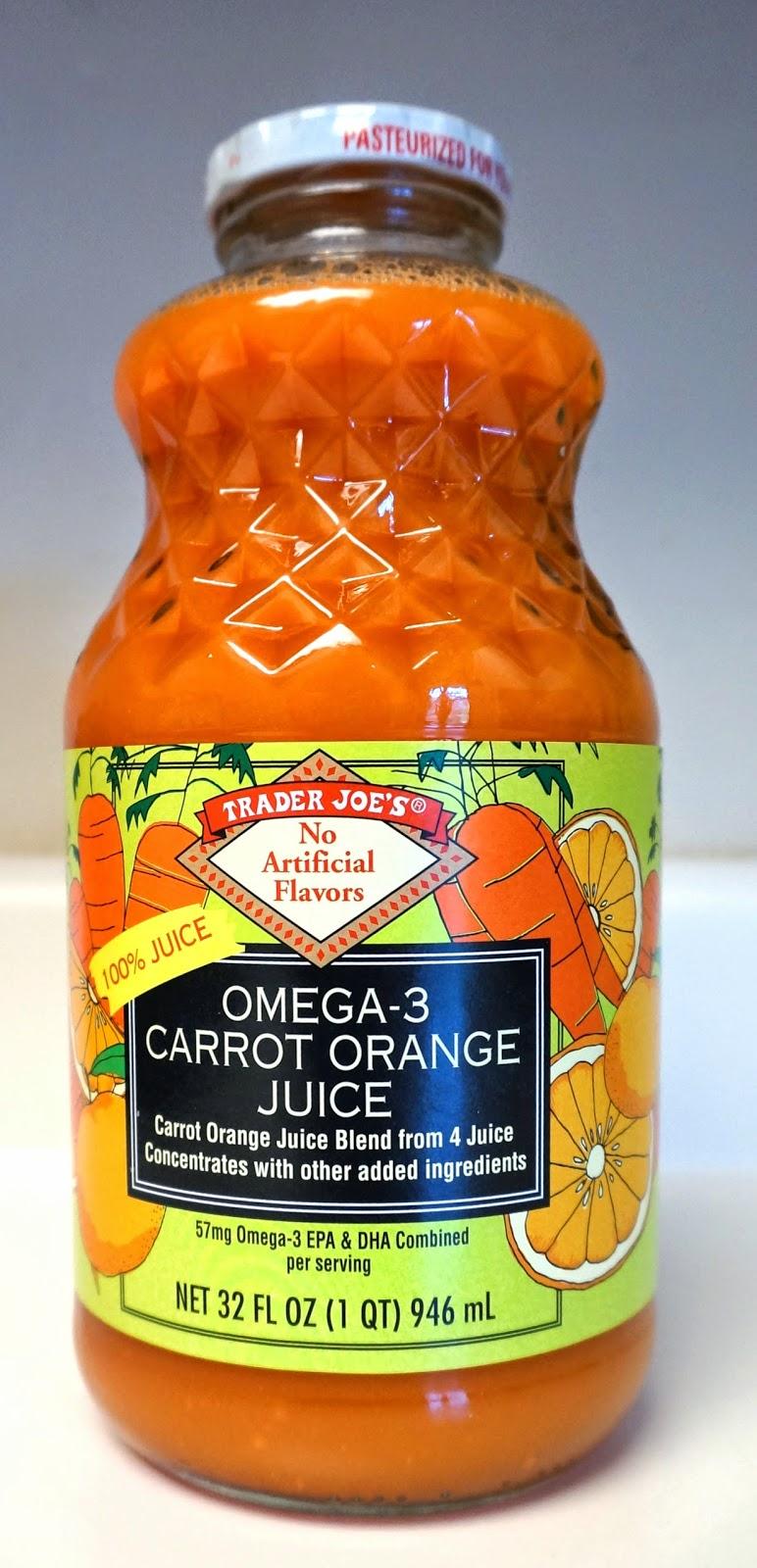 Exploring trader joe 39 s trader joe 39 s omega 3 carrot orange for Trader joe s fish oil