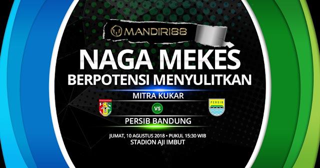 Prediksi Mitra Kukar Vs Persib Bandung, Jumat 10 Agustus 2018 Pukul 15.30 WIB @ Indosiar