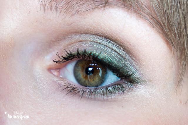 Angel Minerals Mineral Eyeshadow Malachit, Angel Minerals Vegan Mascara Black, Uoga Uoga Eyeliner Sleeping Dragon