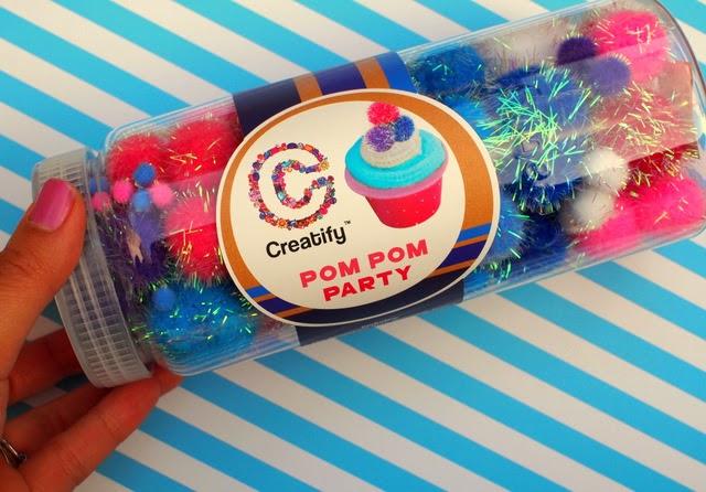 Creatify pom pom container