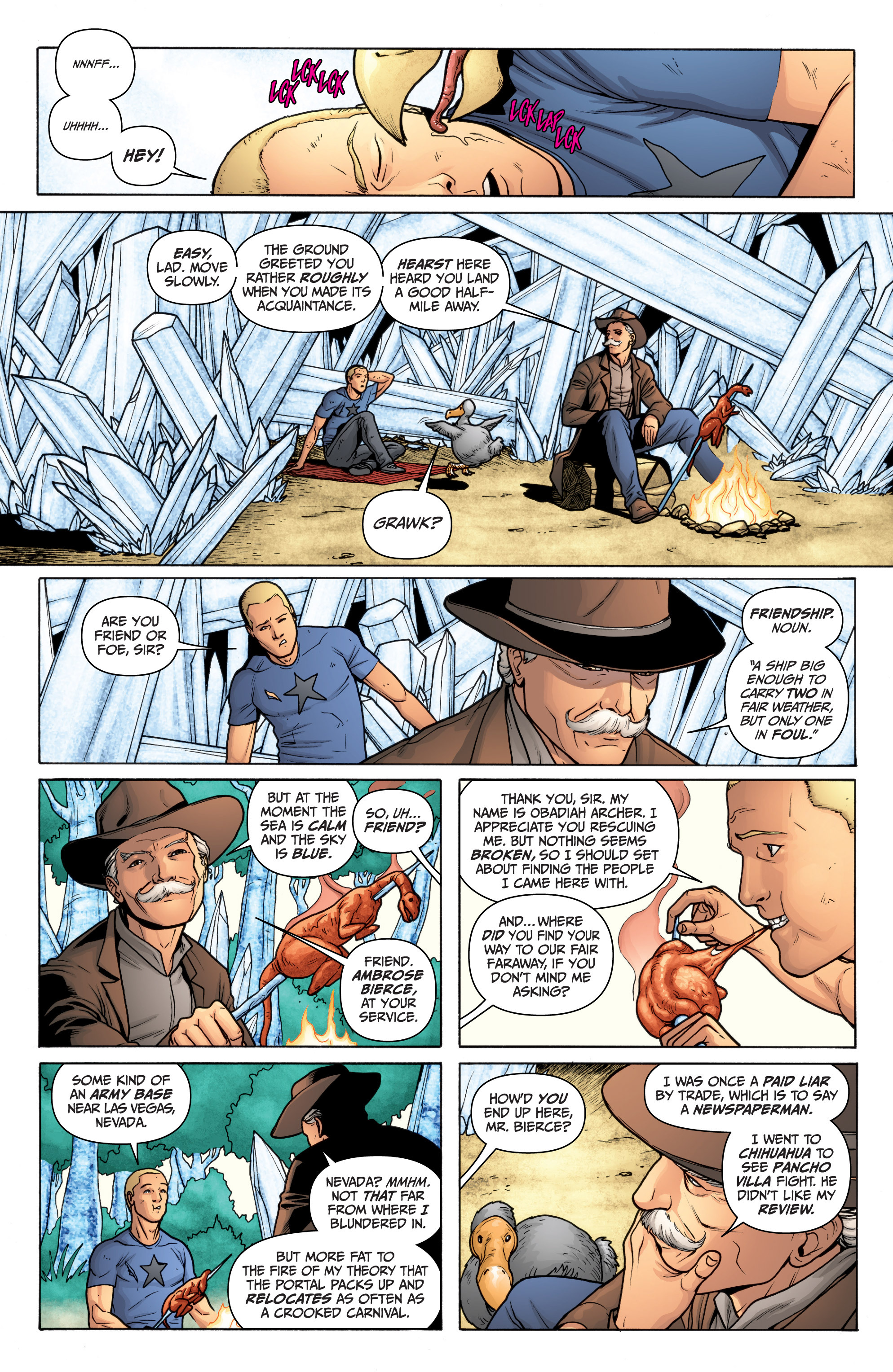 Read online Archer and Armstrong comic -  Issue #11 - 22