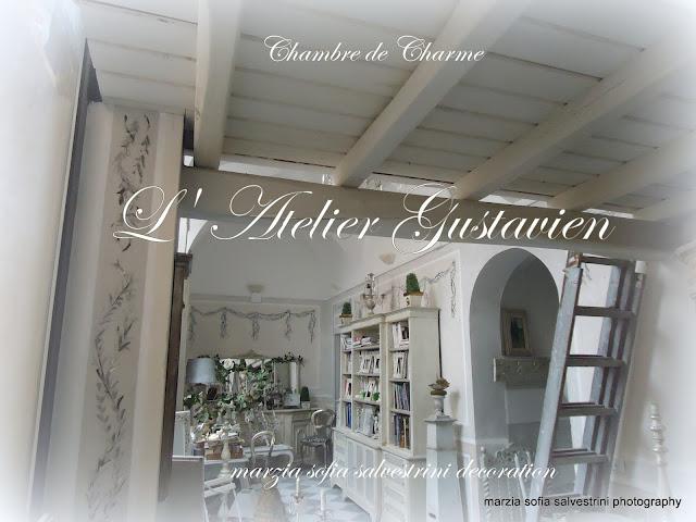 Marzia sofia salvestrini : chambre de charme. l' atelier gustavien