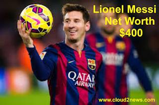 Lion In De Field : Lionel Messi  Net Worth .