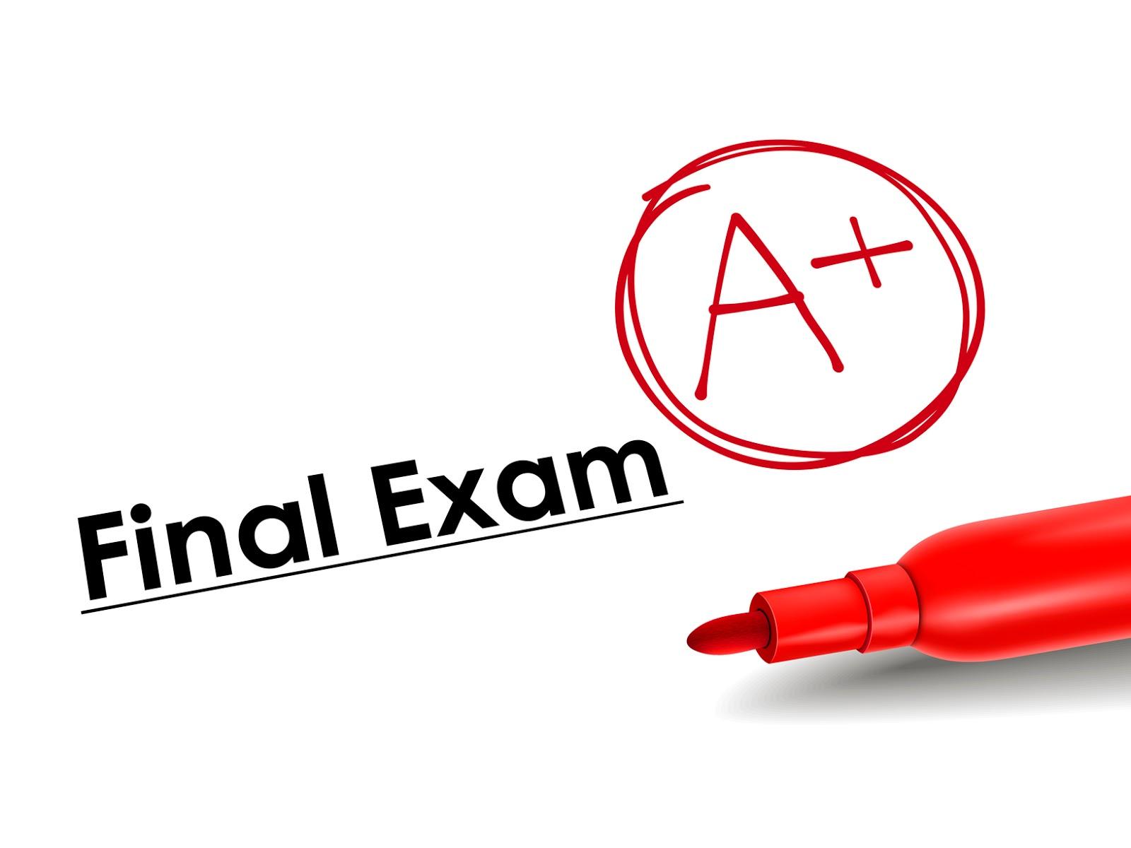 Study.. Study.. Final Exam