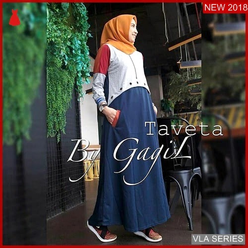 VLA247T98 Model Dress Taveta Bd Murah BMGShop
