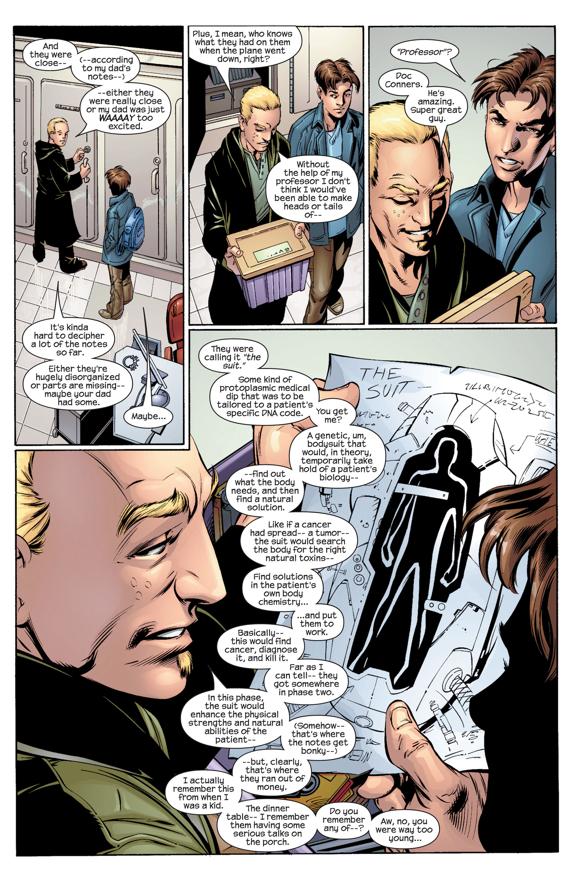 Read online Ultimate Spider-Man (2000) comic -  Issue #34 - 4