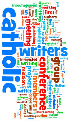 Wordle of DFW Catholic Writers Group blog