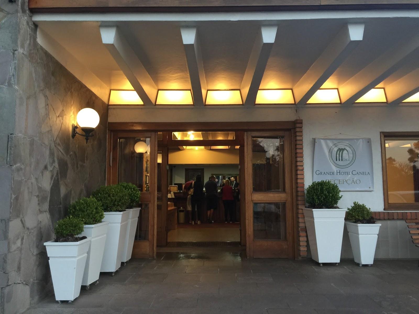Grande Hotel Canela viagem simplesmente