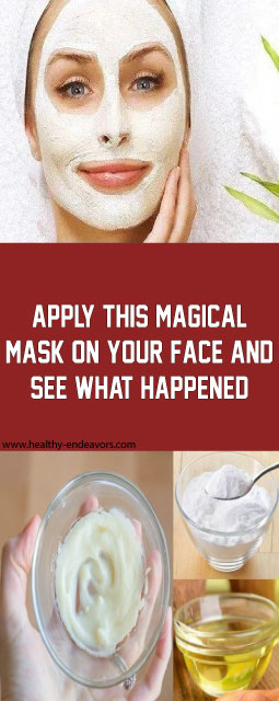 Apply this magical mask on your face and see what happened