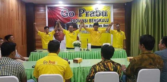 Caleg Golkar Bengkulu Juga Dukung Prabowo-Sandi