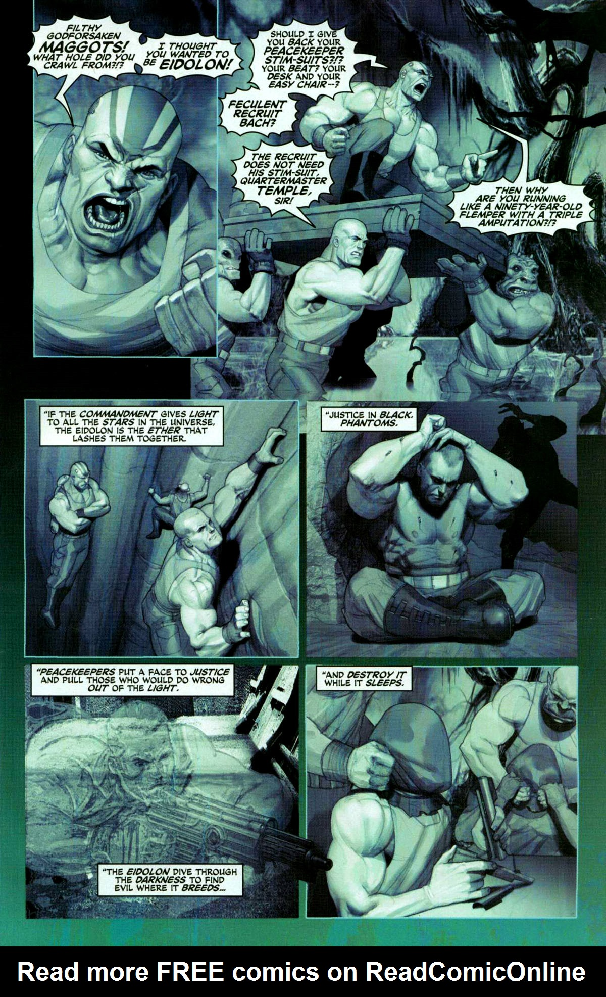 Read online Space Ghost (2005) comic -  Issue #1 - 9