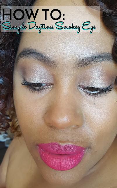 how to do a daytime smokey eye