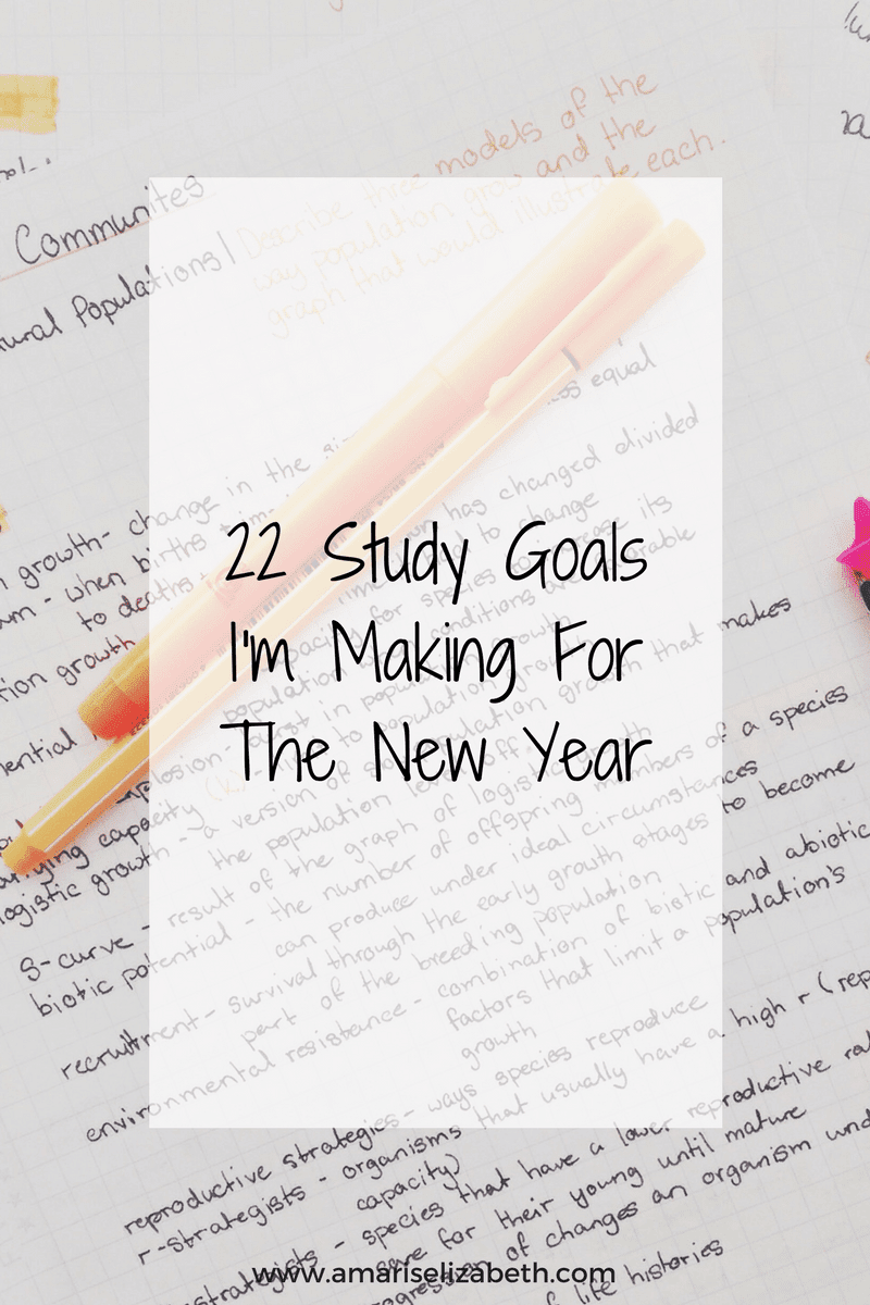 22-study-goals-for-new-year