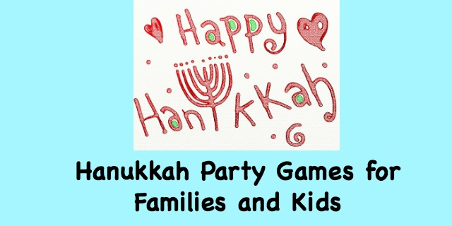 Hanukkah Party Games for Kids