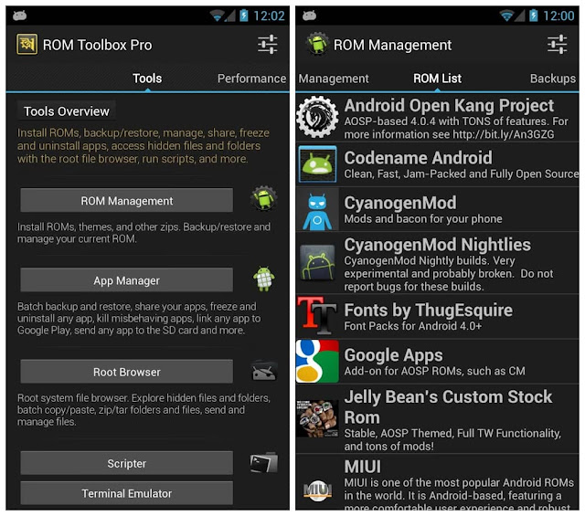 ROM Toolbox Pro APK Download