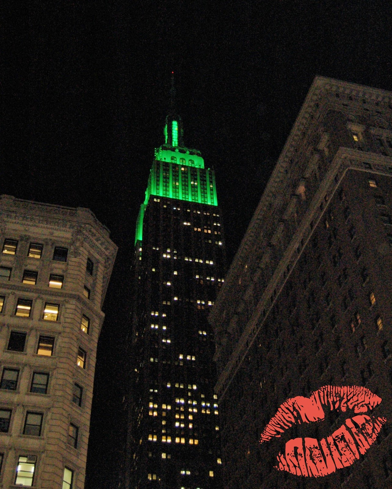 Empire State, green - Happy St. Paddy's