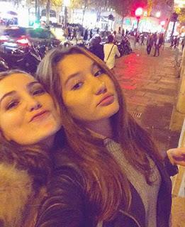Lea Toubale and Nina Toubale