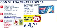 Logo ''Con Vileda vinci la spesa'': in palio 1.000 buoni spesa da 50€ Esselunga