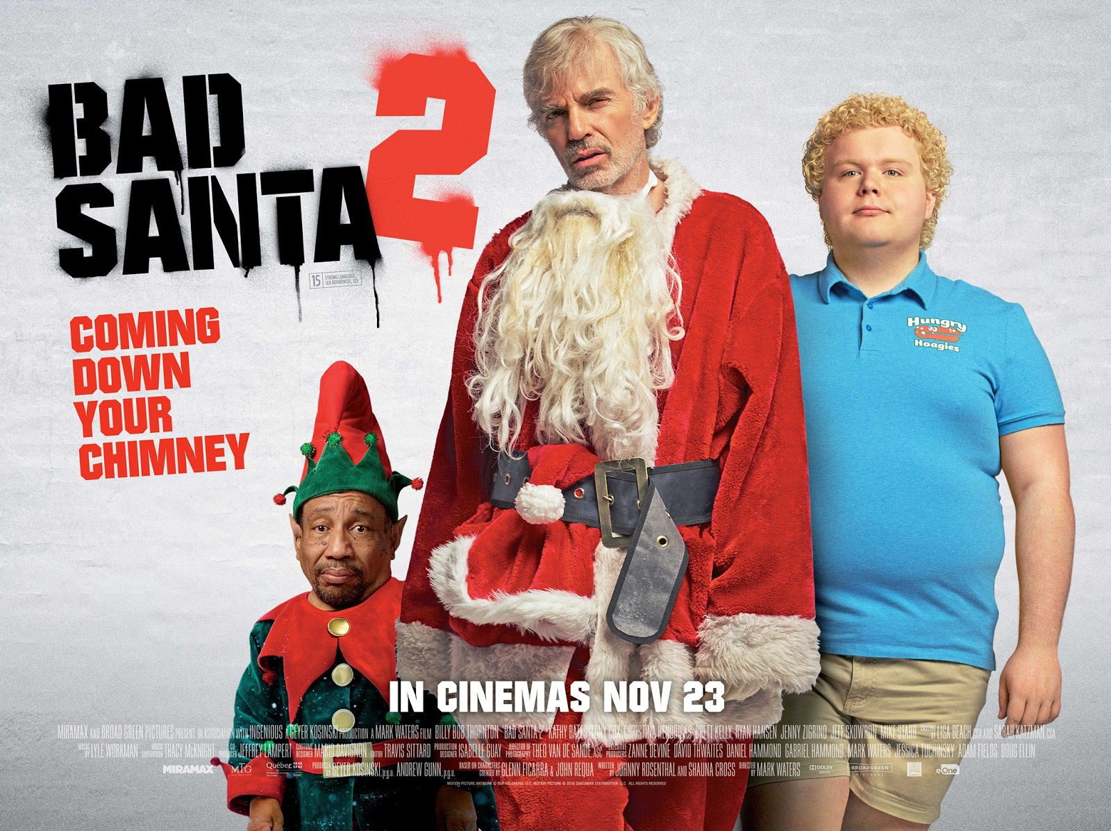 bad santa 2 movie review - Christmas Pictures With Santa 2