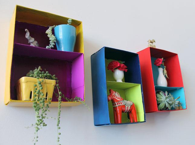 M s y m s manualidades 10 ideas para reutilizar cajas de - Recycled items for the home ...