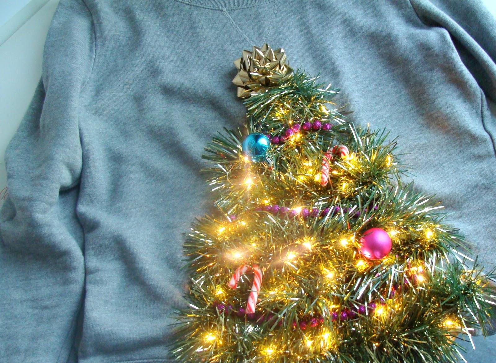 Foute Kersttrui Borrel.Diy Foute Kersttrui Querantine