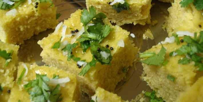 शिंगाड्याच्या पिठाचा ढोकळा - पाककला | Shingadyachya Pithacha Dhokla - Recipe
