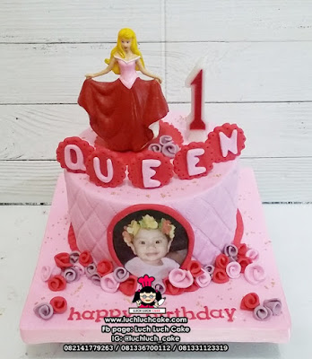 Fondant Birthday Cake Princess Aurora