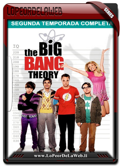 La Teoria del Big Bang - Temporada 2 - 720p - Latino [Mega]