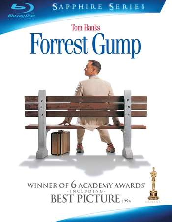 Poster Of Forrest Gump 1994 Dual Audio 720p BRRip [Hindi - English] ESubs Free Download Watch Online