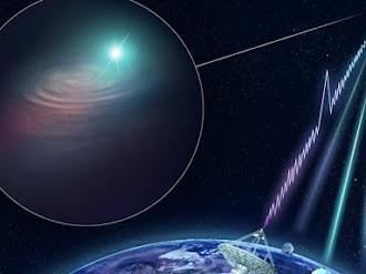 Encuentran el origen de una extraña ráfaga de ondas de radio cósmica