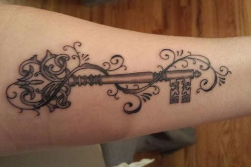 Fantasia Chave De Tatuagem