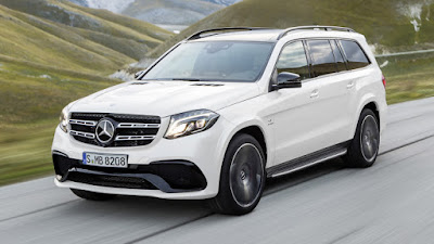 2016 Mercedes GLS 400 4MATIC white HD wallpapers