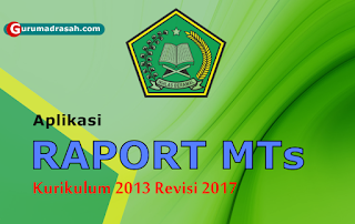 rapot mts k 13 revisi 2017