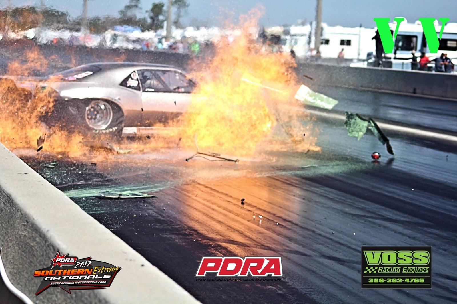 James Linton PDRA Southern Extreme Crash - VIDEO - RACE IT