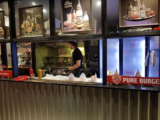 Kauppayhtio Pure burger-Rovaniemi