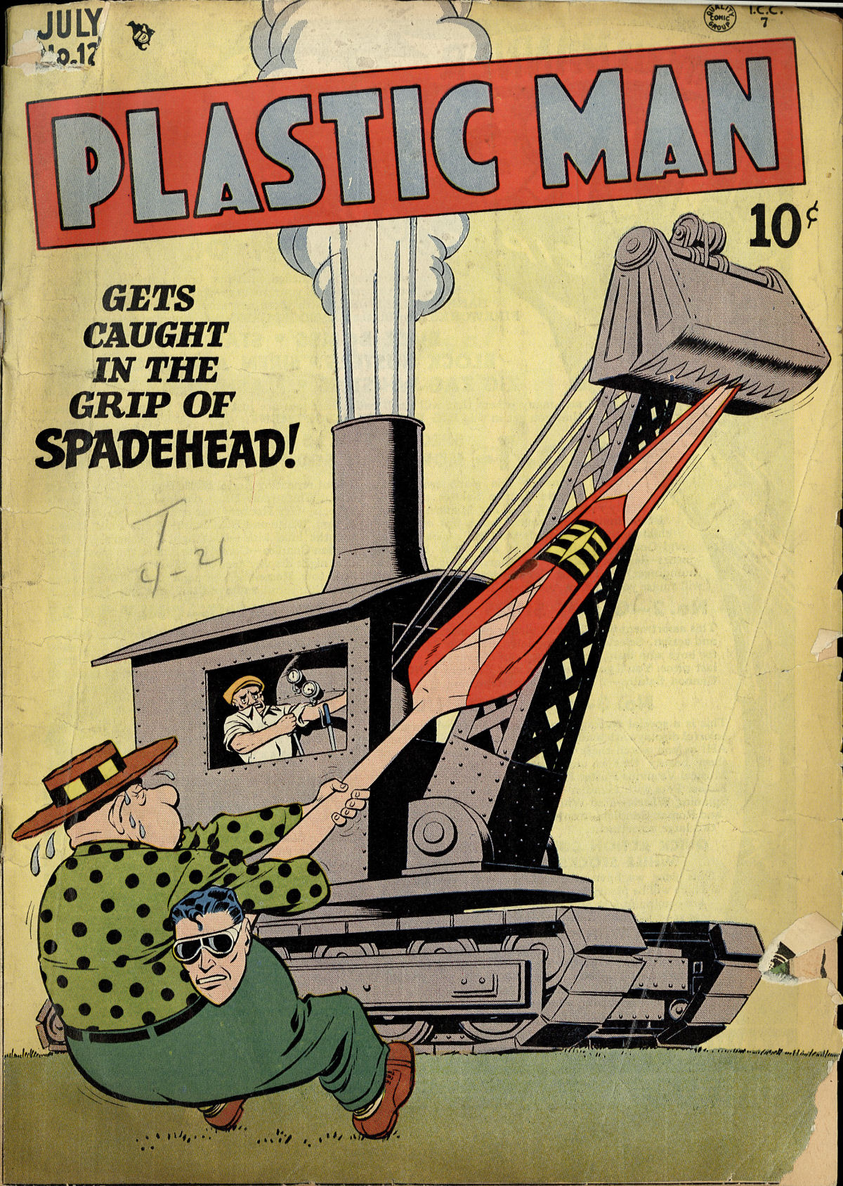 Plastic Man (1943) 12 Page 1