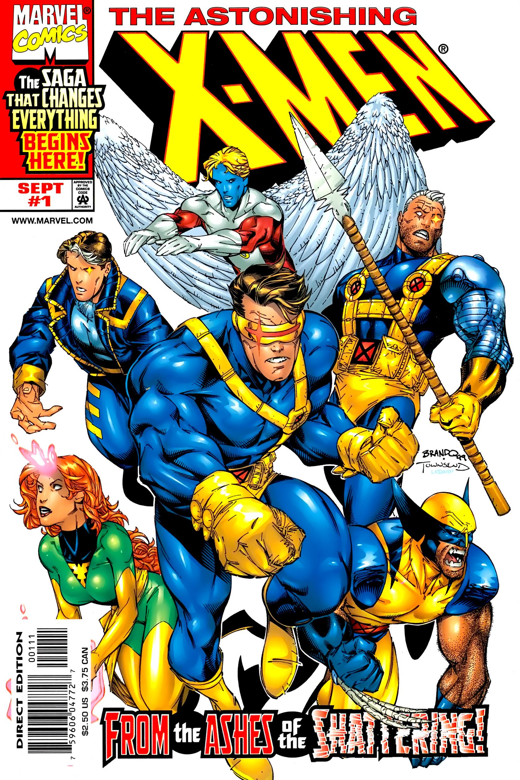 Read online Astonishing X-Men (1999) comic -  Issue #1 - 1