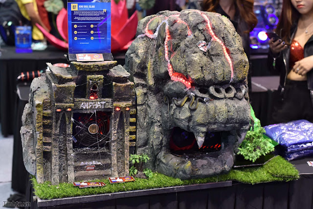 Một vòng triển lãm Extreme PC Master Expo 2017