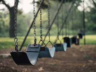 empty swings