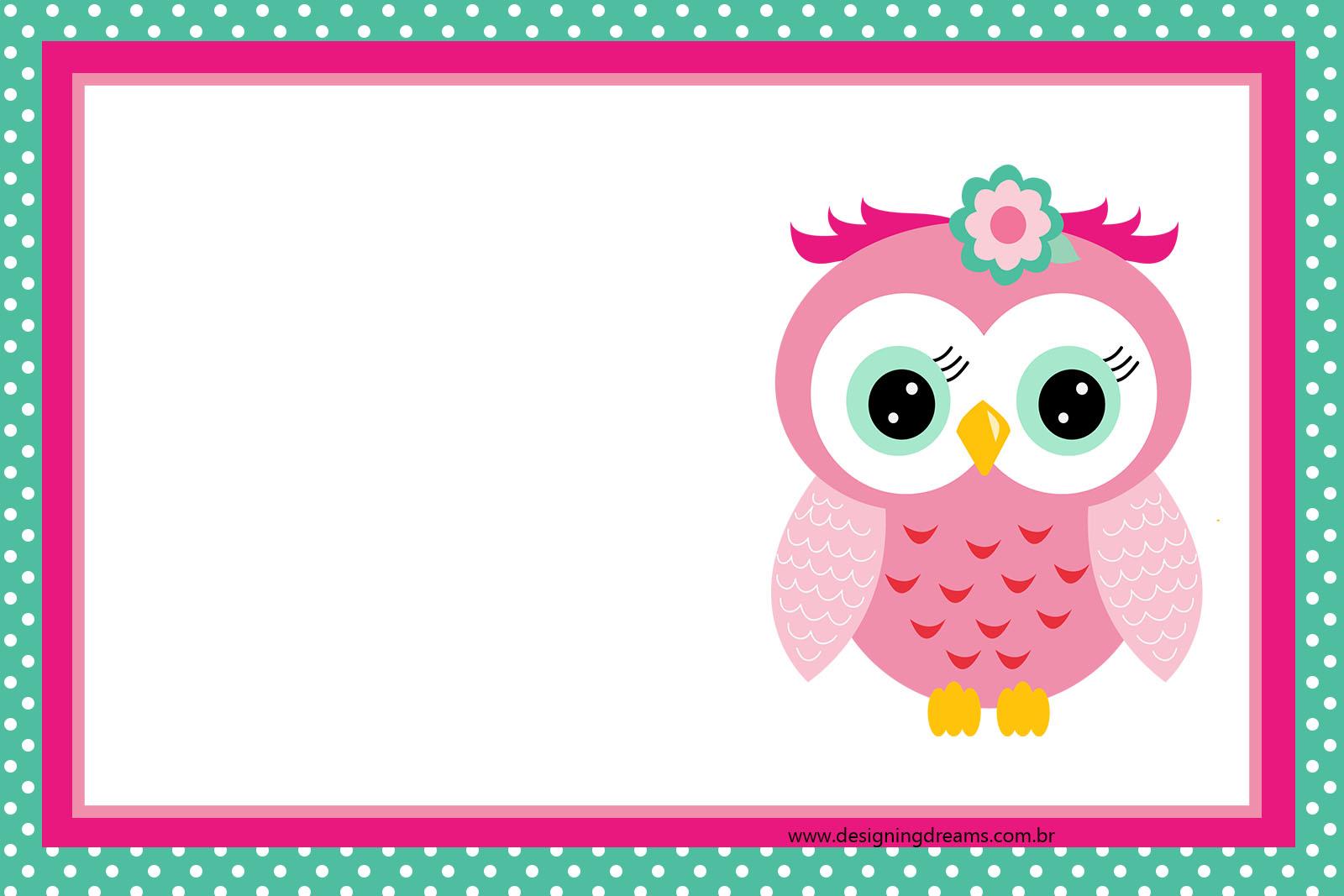 Pink Dot Polka Word Baby Border