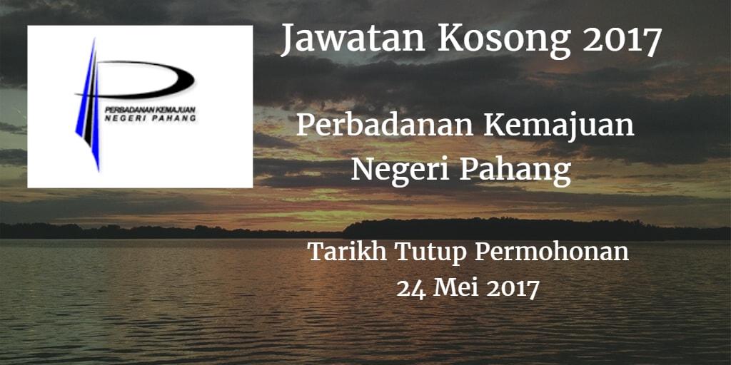 Jawatan Kosong PKNP 24 Mei 2017