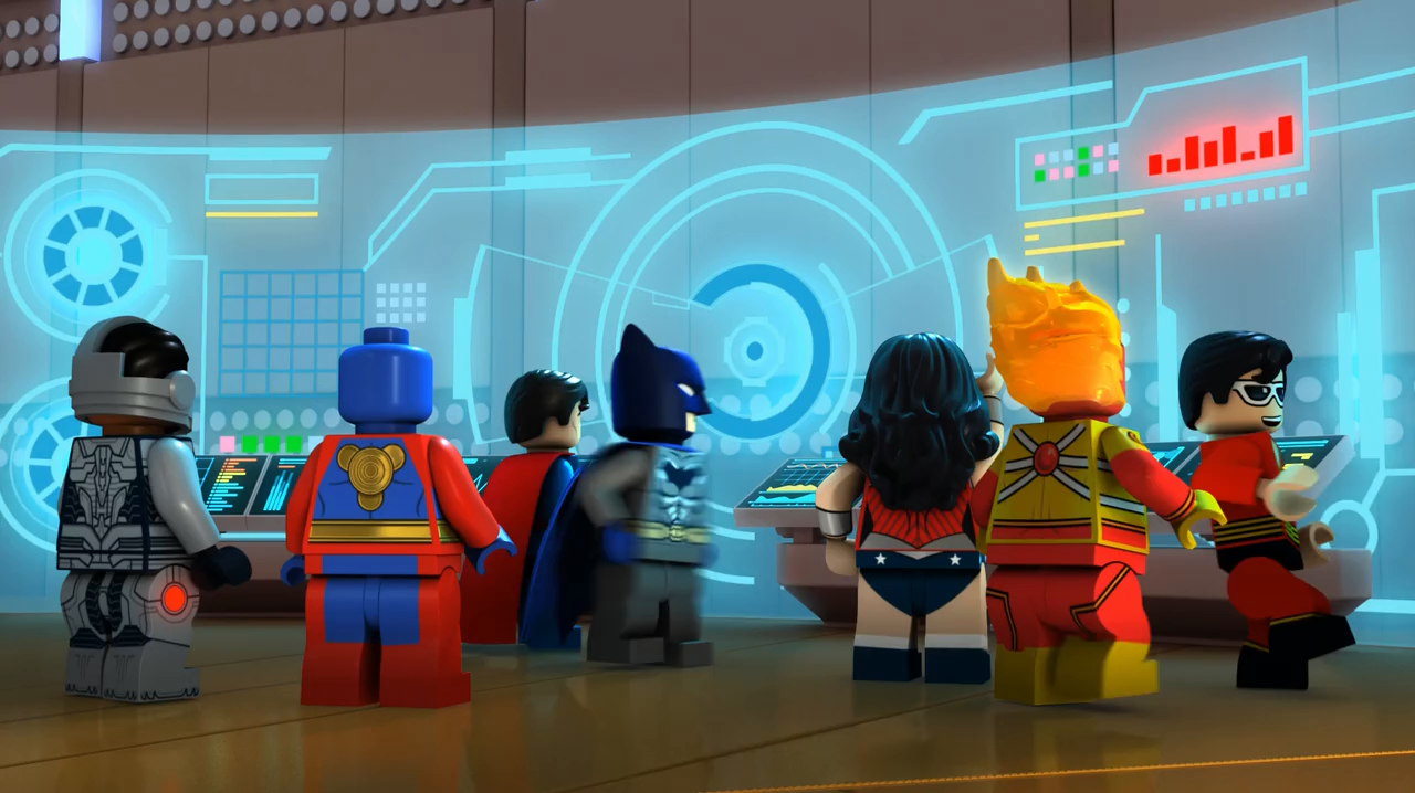 Lego DC Comics Super Heroes: The Flash (2018) 720p Latino-Ingles captura 1