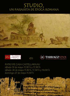 Tàrraco Viva 2012. MV arte en Castellarnau.