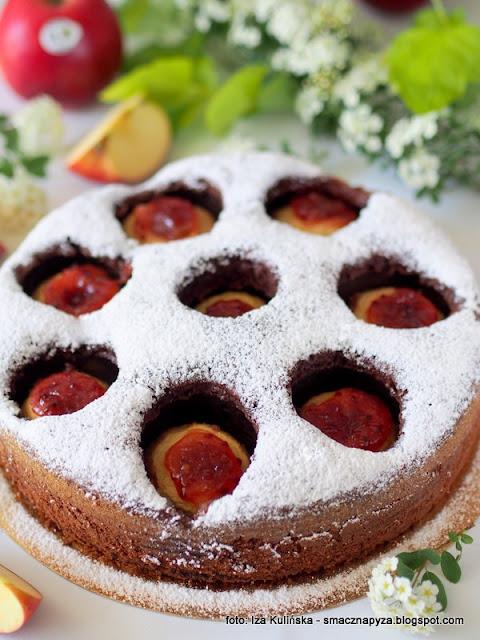 najlepszy przepis na ciasto, ciasto z owocami, placek z jablkami, jablka w ciescie, jablka grojeckie, dobre bo polskie, moje wypieki, tak smakuje piekno, ciasto na niedziele, domowe ciasto