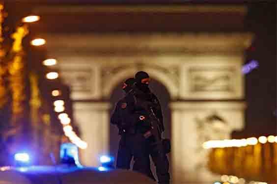 Pada Aksi Teror di Champs Elysees Paris Tidak Ada Korban Jiwa