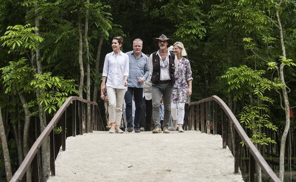 Crown Princess Mary became President of World Wide Fund for Nature Denmark. Prince Henrik founded WWF's branch in Denmark