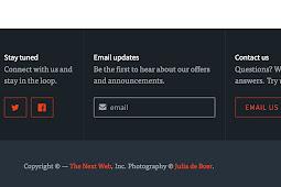 Haruskah kita mengubah blogger kredit footer