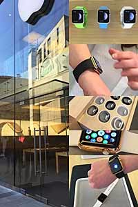 Apple-Watch Preview im Münchner Apple Store Marienplatz am 10.04.2015