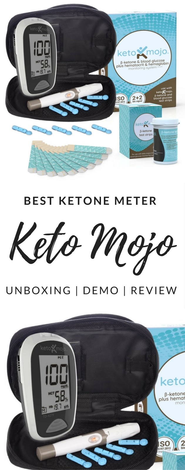 Best Ketone Meter - Keto Mojo Unboxing, Demo, and Review